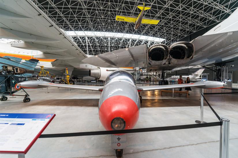 Flugzeug im Aeroscopia Museum