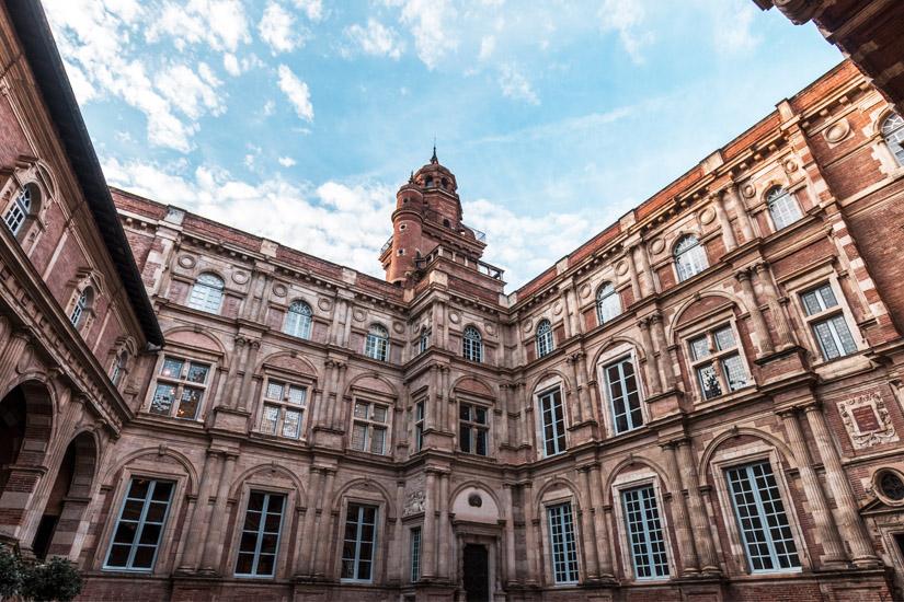 Hotel d'Assezat aus dem 16. Jahrhundert