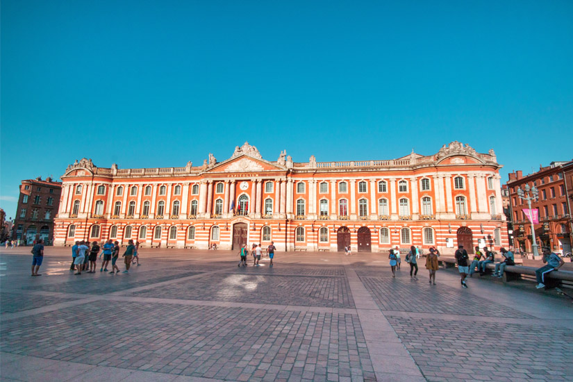 Place du Capitol in Toulouse