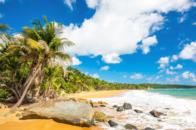 Flamenco Beach, Puerto Rico