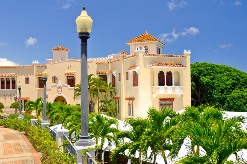 Stadt Ponce in Puerto Rico