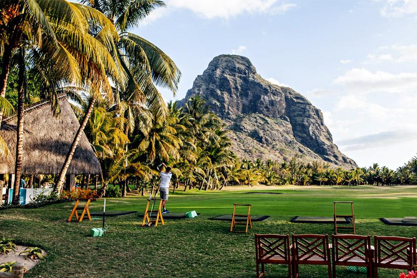 Golf spielen auf Mauritius