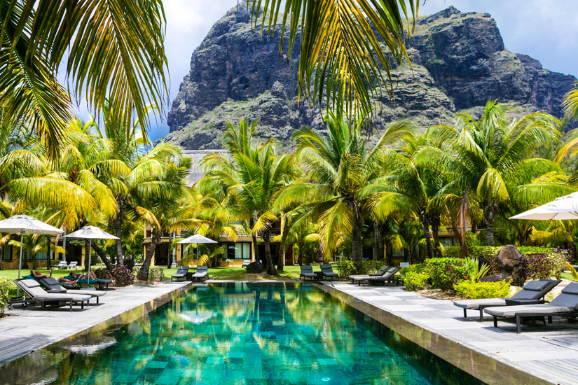 Resort-Hotel auf Mauritius