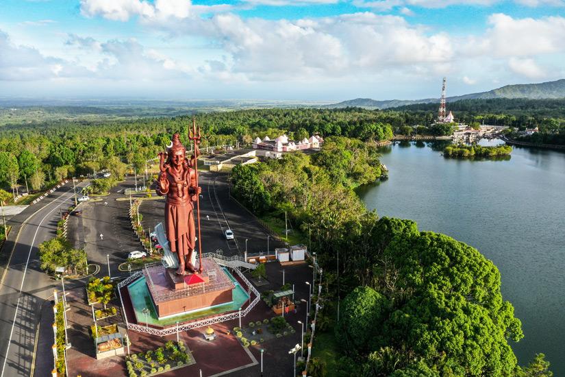 Ganga Talao auf Mauritius