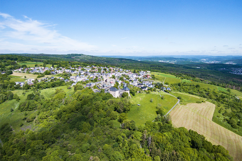 Burg Greifenstein im Westerwald