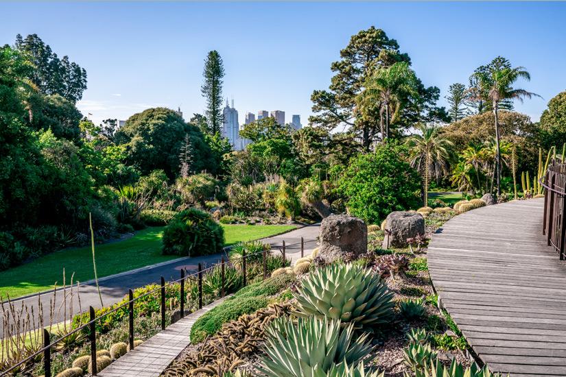 Botanischer Garten von Melbourne
