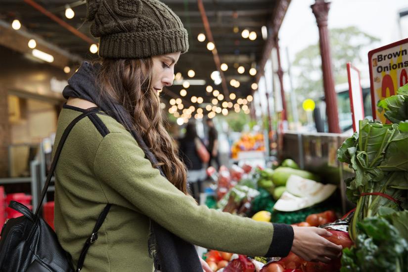 Einkaufen auf dem Melbourne Market