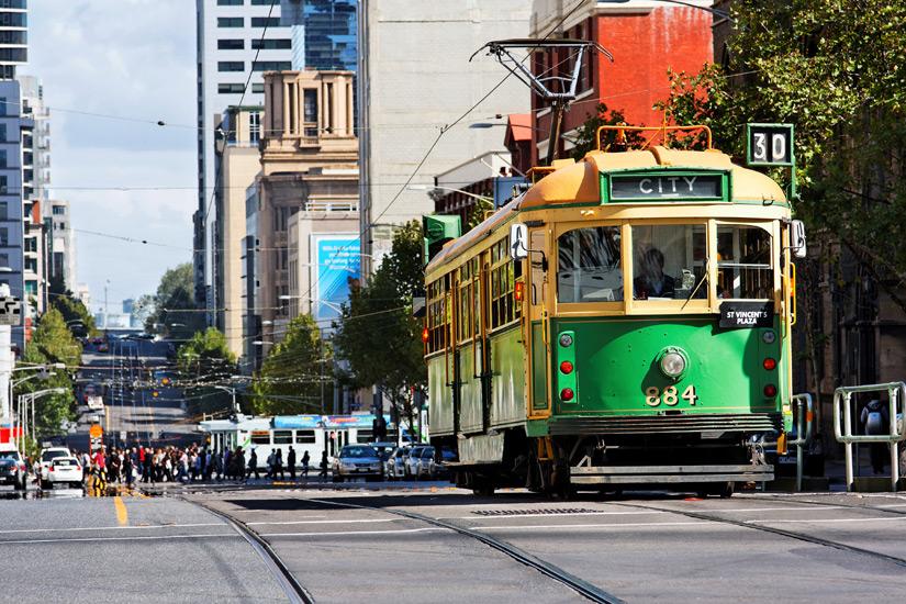 Unterwegs mit der City Circle Tram