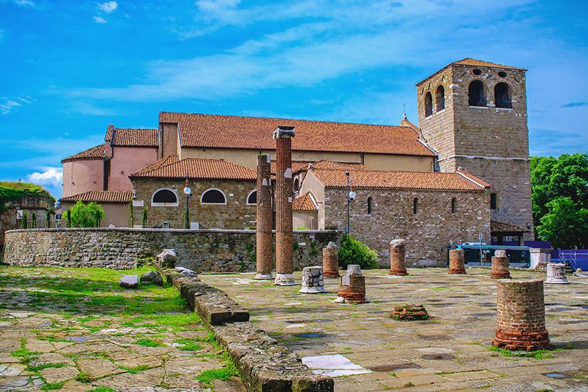 San Giusto Kirche aus dem Mittelalter