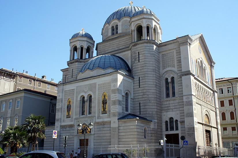 Kirche der Dreifaltigkeit in Triest