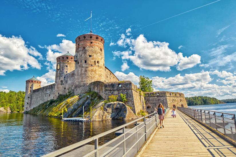 Burg Olavinlinna in Savonlinna