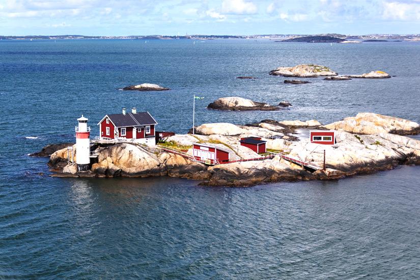 Inseln vor Finnlands Kueste und Schaerenmeer