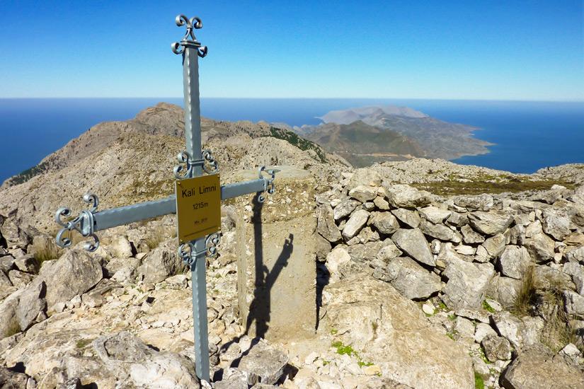Kali-Limni-Gipfelkreuz-Karpathos