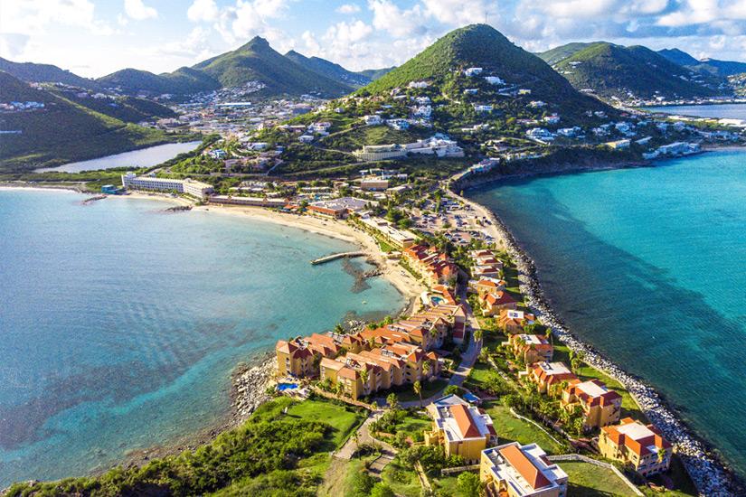 Sint-Marteen-Karibik