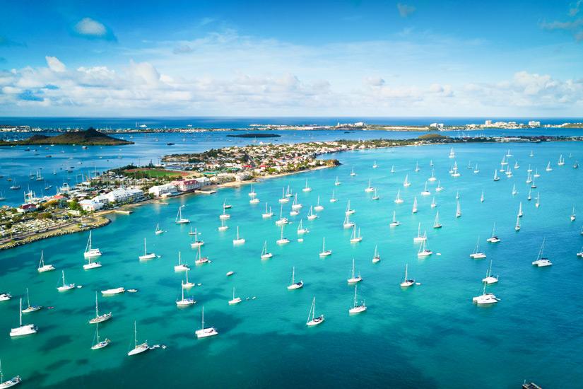 Boote-Marigot-Bay