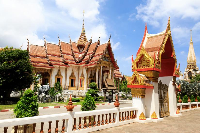 Wat Chalong Tempel, Phuket