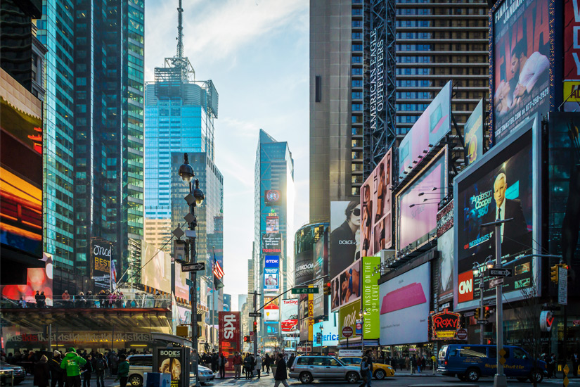 Bunter Times Square