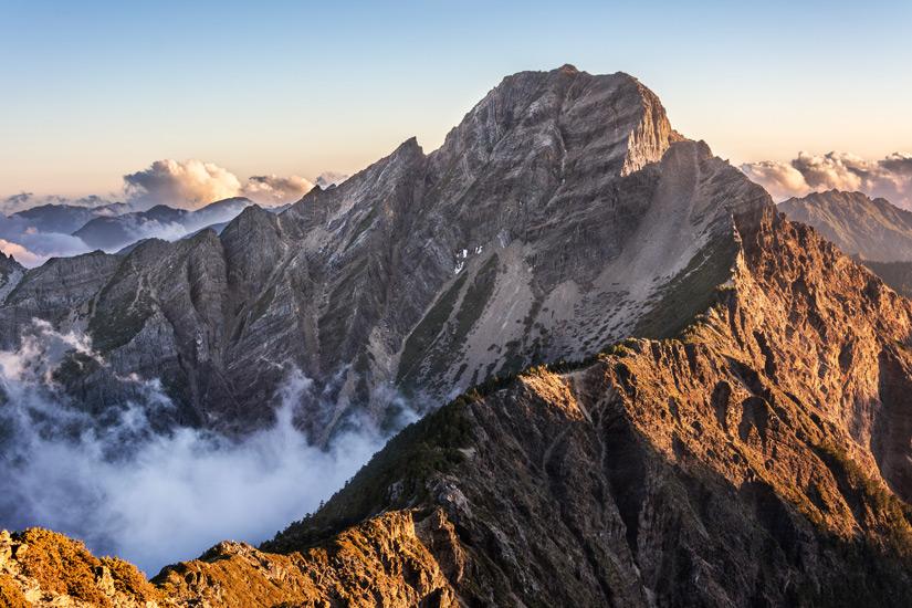 Berg Yushan in Taiwan