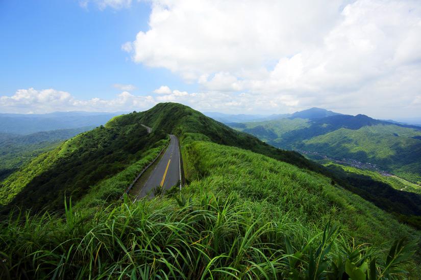 Unterwegs in den Bergen von Taiwan