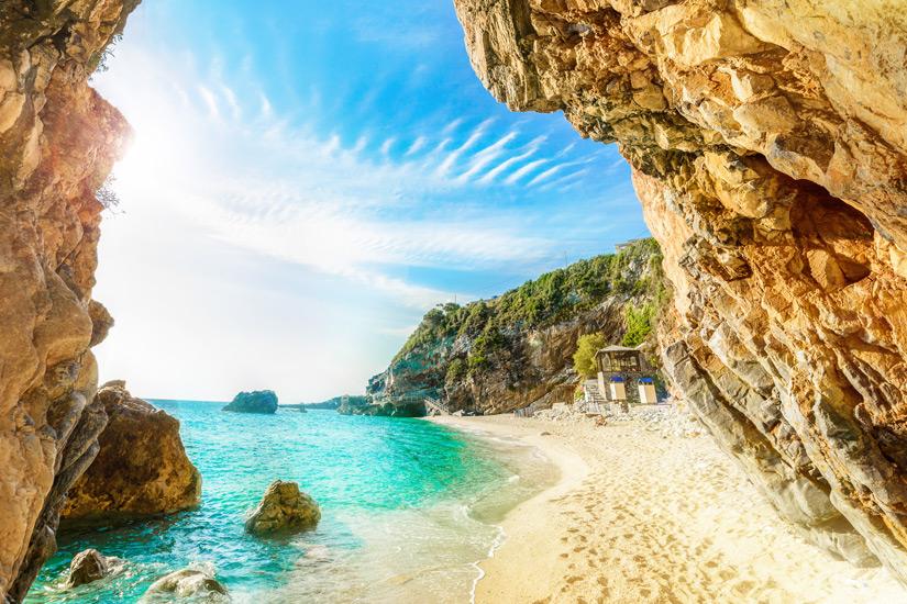 Sommer am Ionischen Meer auf Korfu