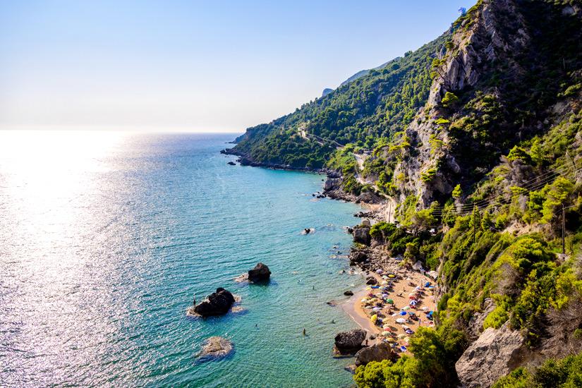 Strand von Myrtiotissa