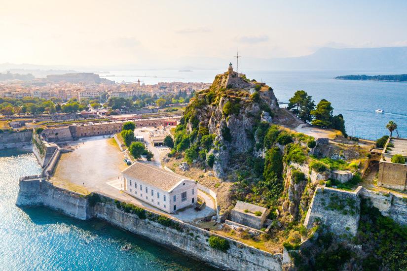 Kerkyra, Hauptstadt von Korfu