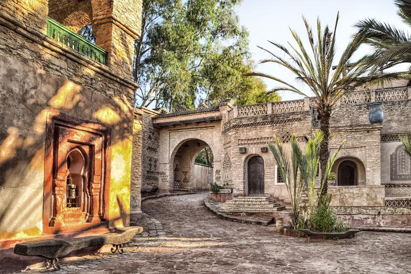 Medina in der Hafenstadt Agadir