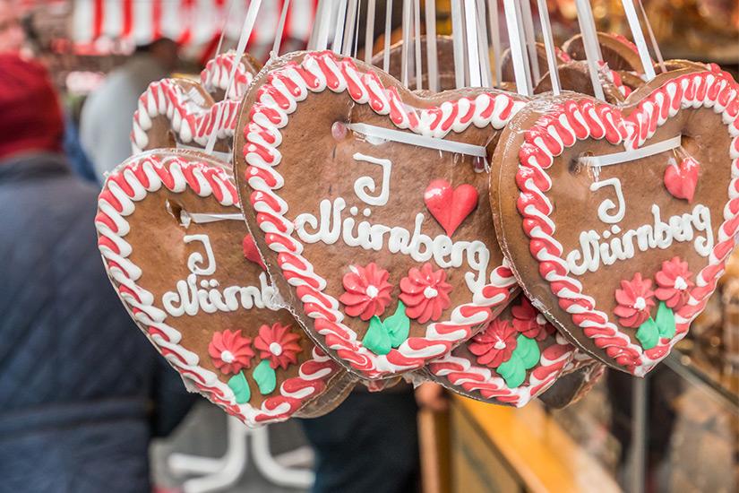 Lebkuchenherzen aus Nuernberg