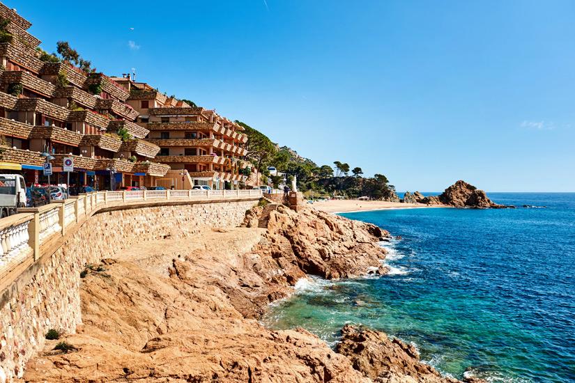 Hotel am Strand von Tossa de Mar