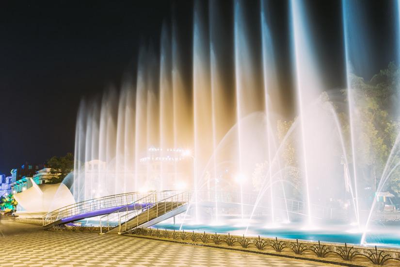 Dancing Fountains in Batumi