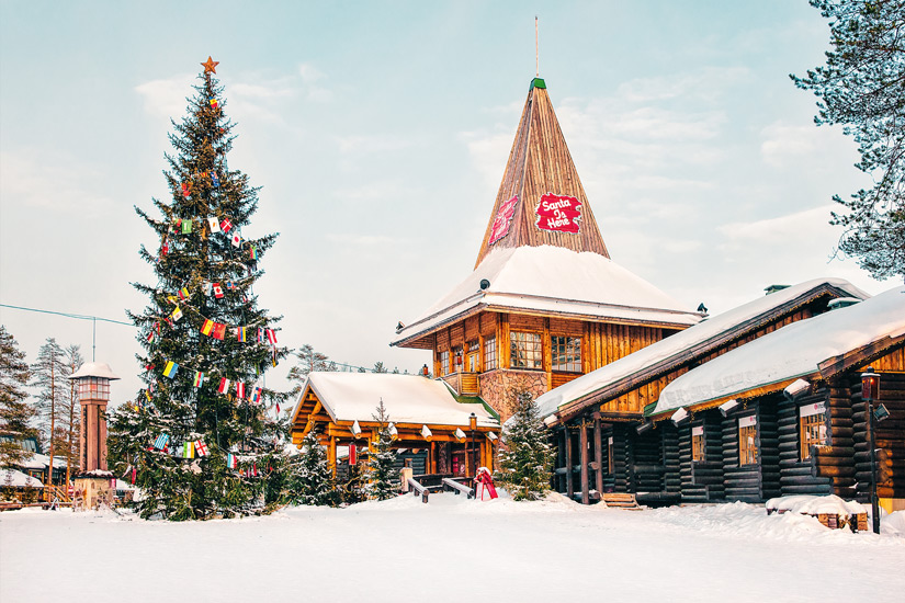 Weihnachtsmanndorf bei Rovaniemi