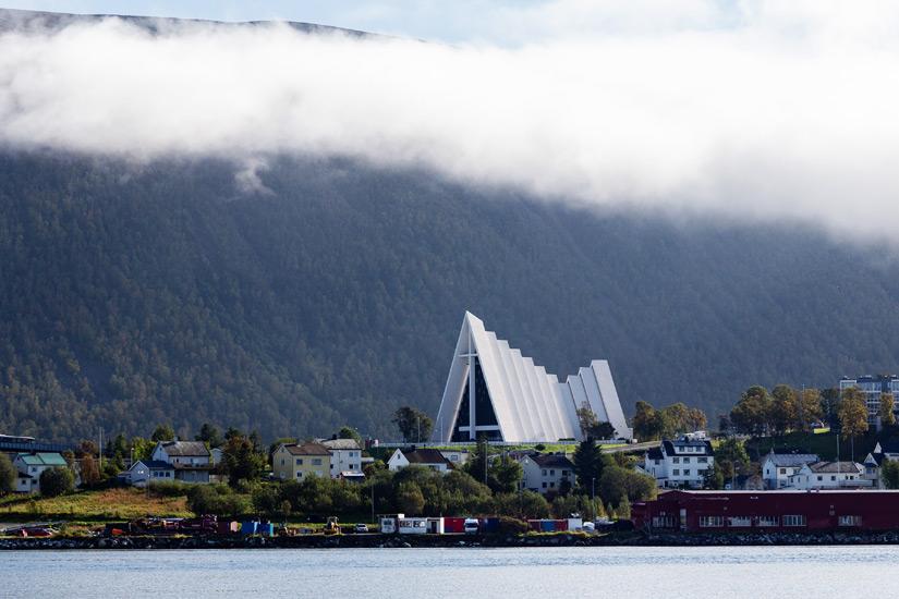 Tromso mit Eismeerkathedrale