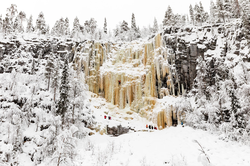 Wasserfaelle Korouoma, Lappland