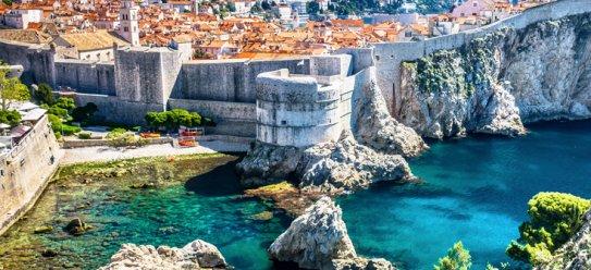 Dubrovnik – Hafenstadt in Dalmatien