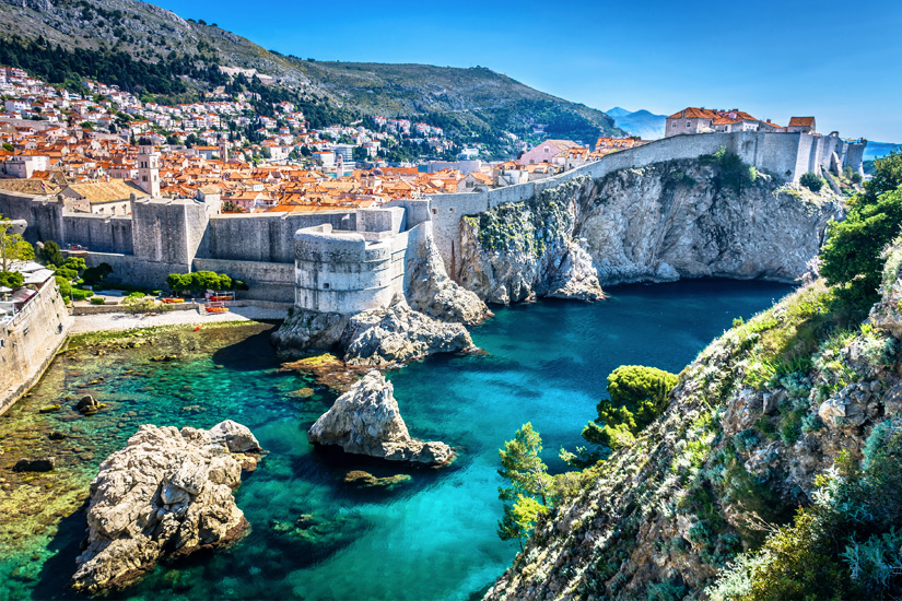 Dubrovnik und seine Stadtmauer