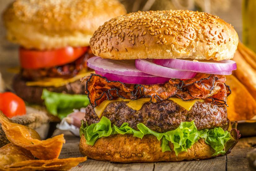 Rustikaler-Burger