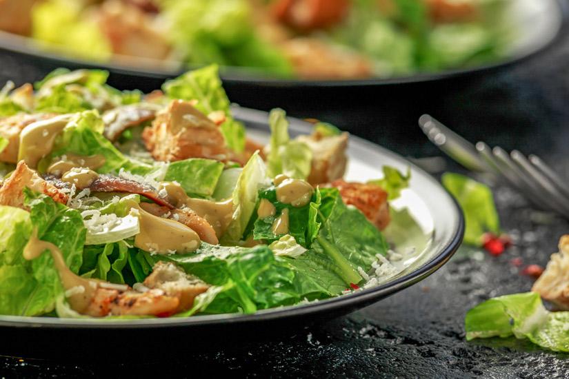 Ceasar Salad mit Huhn