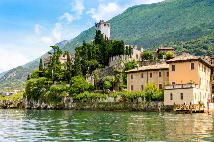 Das Castello Scaligero am Gardasee