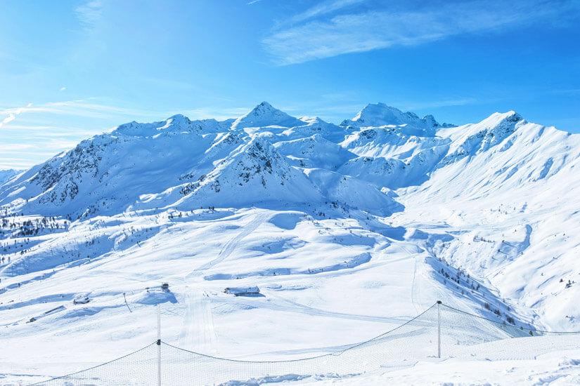 Das Skigebiet Veltlin