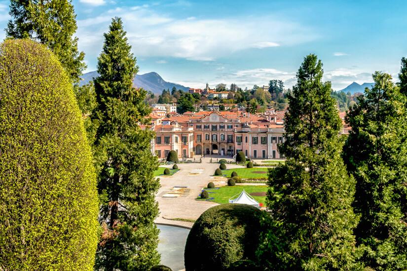 Gartenanlage und Palast Estense