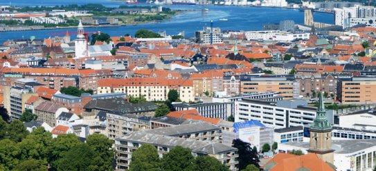 Aalborg am dänischen Limfjord