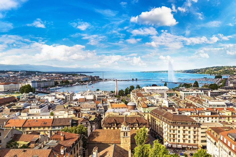 Genf und der Genfer See