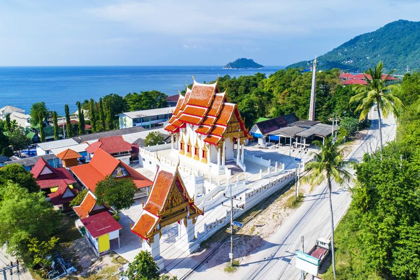 Der Tempel Wat Koh Tao