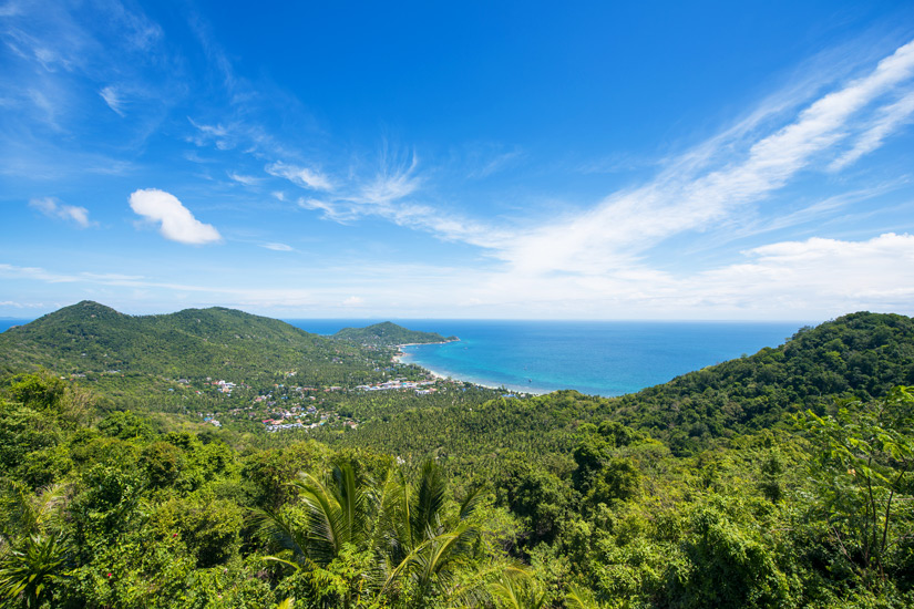 Blick vom Mango Viewpoint