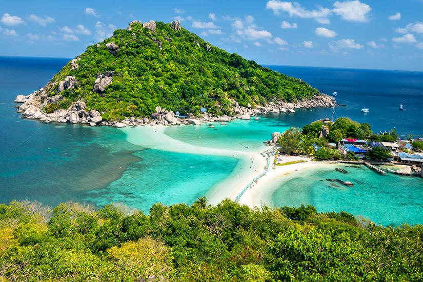 Die Sandbank von Koh Nang Yuan