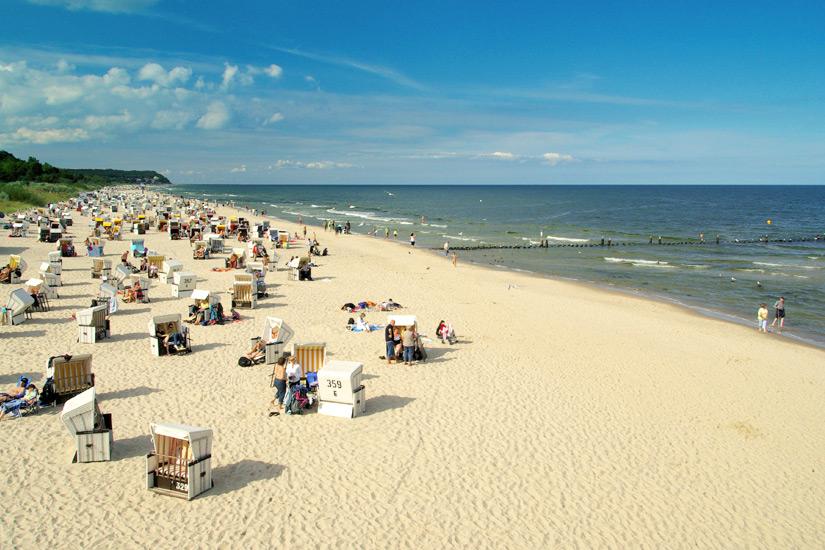 Strand in Heringsdorf