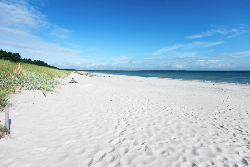 Strand Schaabe auf Ruegen