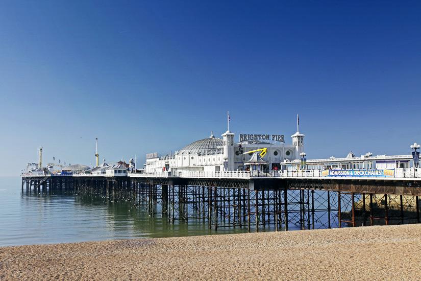Die Seebruecke in Brighton
