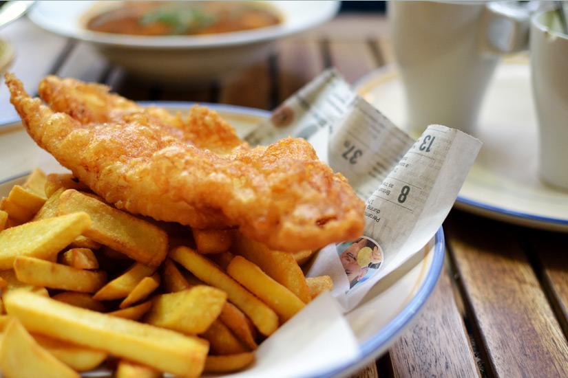 Der Klassiker Fish and Chips