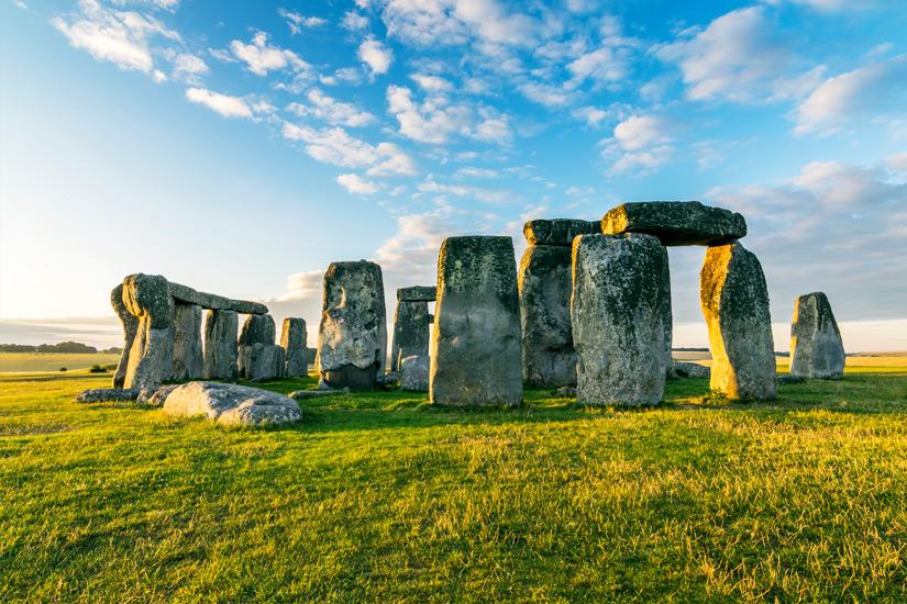 Der jungsteinzeitliche Steinkreis Stonehenge